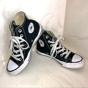 Converse High Tops, All Star, Black Size 5